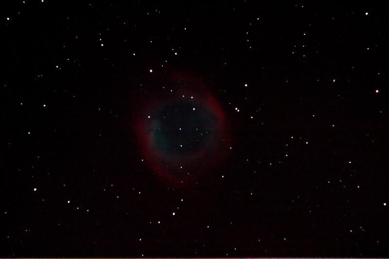 Caldwell 63 - NGC7293 - Helix Nebula - 12/9/2012 (Processed stack)