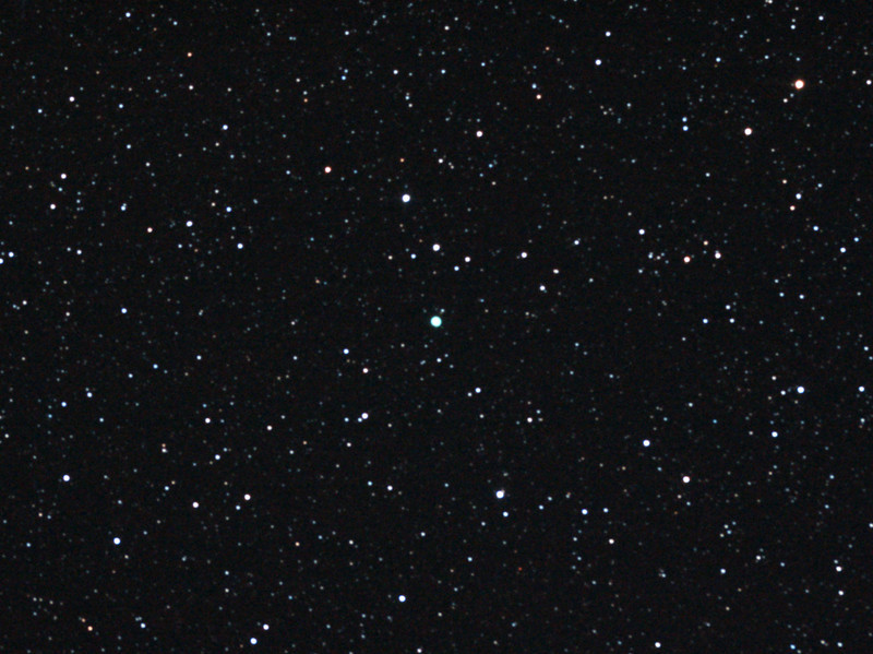 Caldwell 90 - NGC2867 - Planetary nebula in Carina - 7/4/2013 (Processed cropped stack)