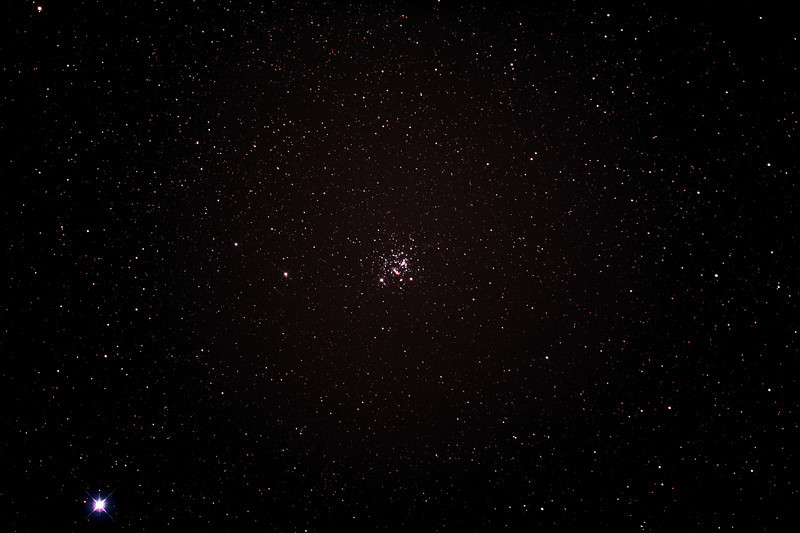 Caldwell 94 - NGC4755 - Jewel Box Cluster near Becrux - 23/2/2014 (Processed stack)