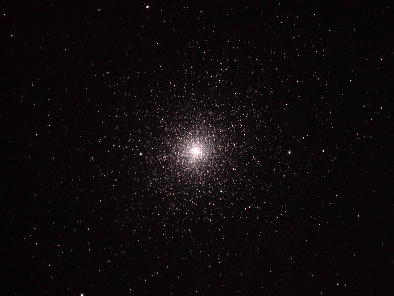 Caldwell 106 - NGC104 - 47 Tucanae Globular Cluster - 30/9/2013 (Processed cropped stack)