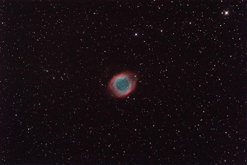 Caldwell 63 - NGC7293 - Helix Planetary Nebula - 24/9/2014 (Processed single test image)