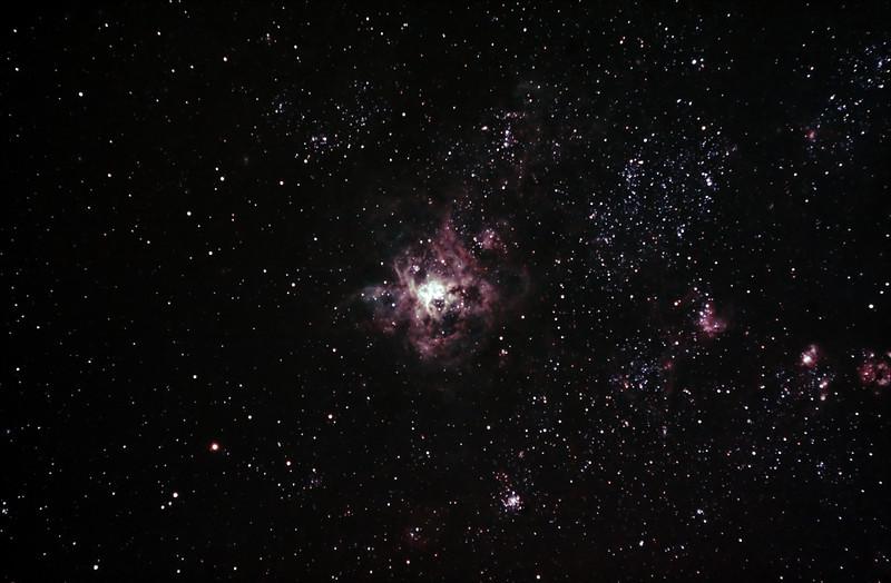 Caldwell 103 - NGC2070 - 30 Doradus - Tarantula Nebula - 1/10/2013 (Processed stack)