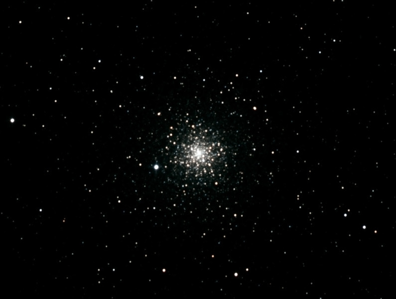 Caldwell 93 - NGC6752 - Globular Cluster in Pavo - 10/10/2012 (Processed cropped stack)