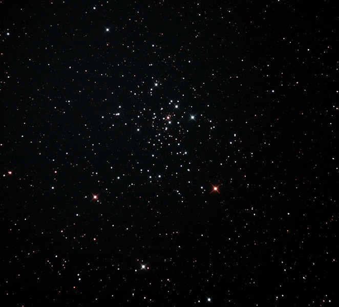 Caldwell 96 - NGC2516 The Diamond Cluster - 28/12/2011 (Re-processed cropped stack)