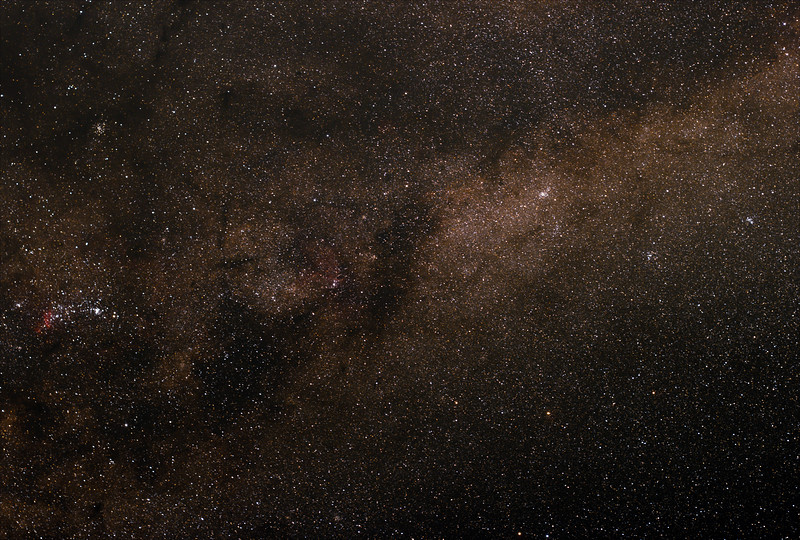 Milky Way in Norma - 27/4/2017 (Processed stack)