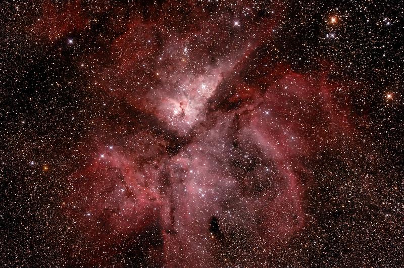 Caldwell 92 Eta Carinae Neblua - 22/3/2015 (Processed stack)
