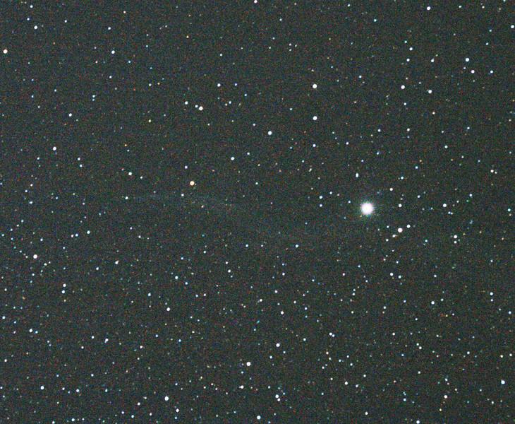Caldwell 34 - NGC6960 - Western Veil Nebula - 28/5/2011 (Single processed and cropped image)