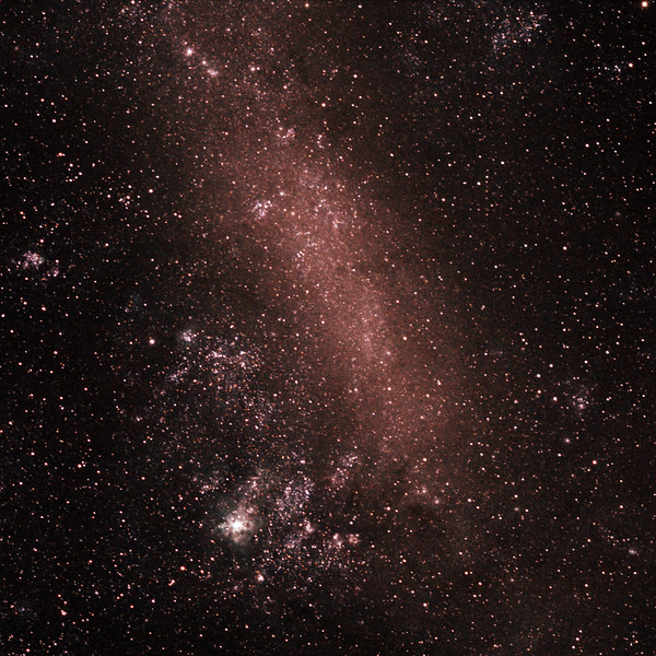 Large Magellanic Cloud  - 29/12/2018 (Processed Cropped Stack)