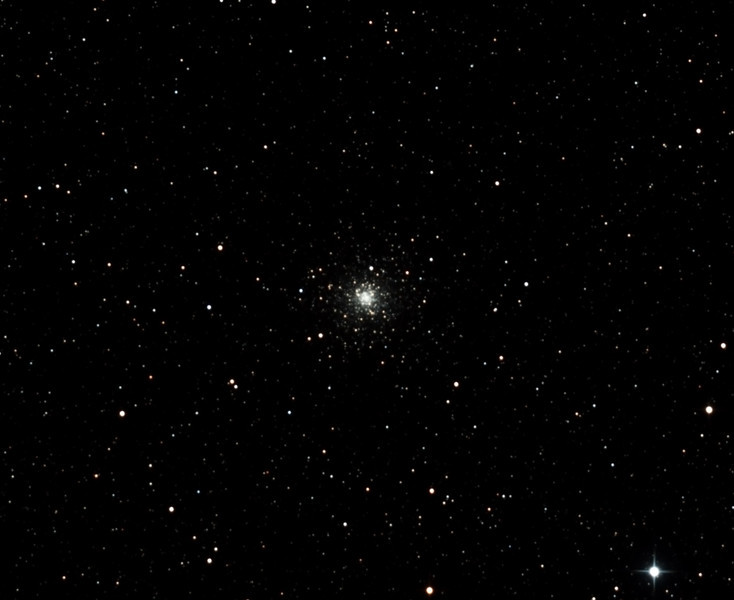 Caldwell 78 - NGC6541- Globular Cluster in Corona Australis - 10/10/2012 (Processed cropped stack)