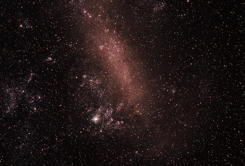 Large Magellanic Cloud  - 29/12/2018 (Processed Stack)