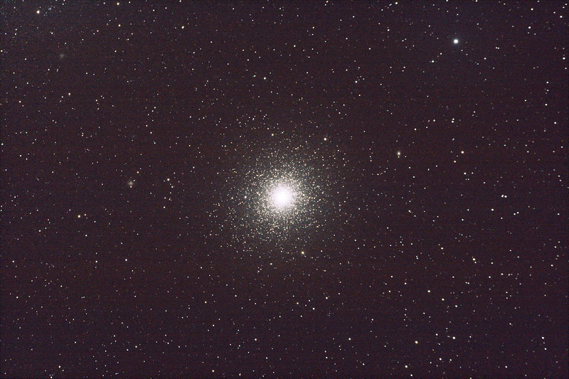 Caldwell 106 - NGC104 - 47 Tucanae Globular Cluster - 26/8/2011 - Dark Sky site near Wagin (Processed stack)