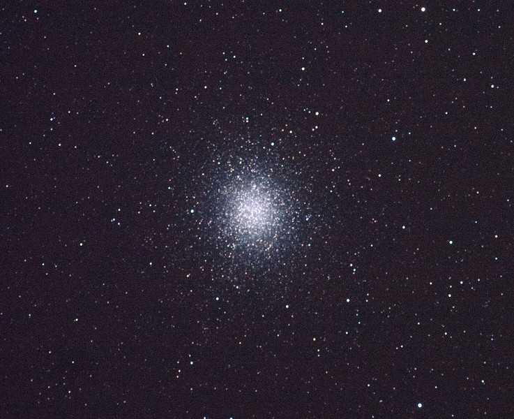 Caldwell 80 - NGC5139 - Omega Centauri Globular Cluster - 4/2/2011 (Processed single in-camera dark)