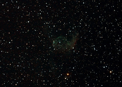NGC2359 - Gum 4 - Thor's Helmet in Canis Major - 9/11/2012 (Processed cropped stack)