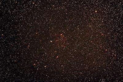 Gum 6 - Sh2-302 Nebula - 1/2/2014 (Processed stack)