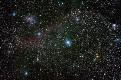 IC2177 Seagull Nebula - 1/12/2013 (Processed stack)