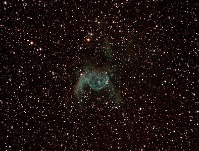 NGC2359 - Gum 4 - Thor's Helmet in Canis Major - 10/1/2013 (Processed cropped stack)