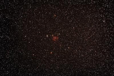 Gum 5 - Sh2-301 Nebula - 1/2/2014 (Processed stack)