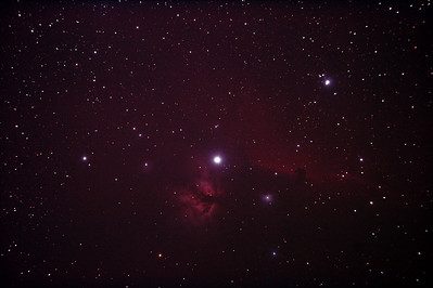 IC434 Horsehead Nebula near Star Alnitak - 9/12/2010 (Re-processed Stack 2/3)