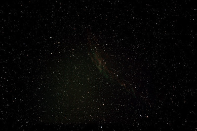 Caldwell 33 - NGC6992/5 + IC1340 - Eastern Veil Nebula in Cygnus - 10/8/2012 (Processed stack)