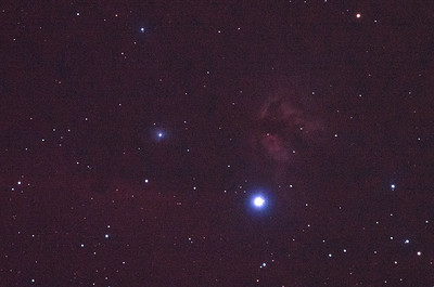 IC434 Horsehead Nebula near Alnitak - 4/2/2011 (Processed single in-camera dark)