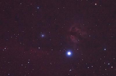 IC434 Horsehead Nebula near Alnitak - 4/2/2011 (Processed single in-camera dark)