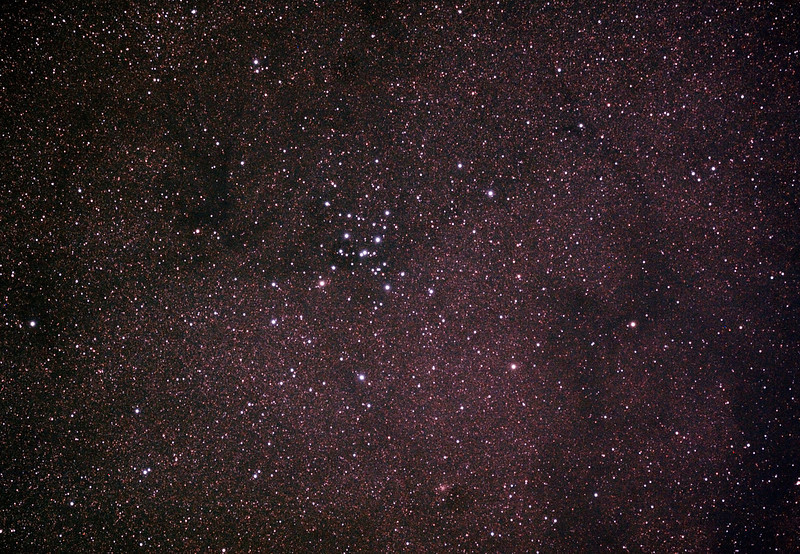 Messier M7 - NGC6475 - Ptolemy's Cluster in Scorpius - 2/10/2013 (Processed cropped stack)