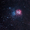 Messier M20 - NGC6514 - Gum 76 - Trifid Nebula- 1/4/2011 (Processed Cropped stack)