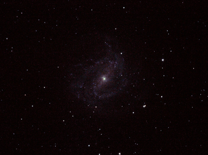 Messier M83 NGC5236 Southern Pinwheel Galaxy - 14/04/2012 (Processed cropped stack)