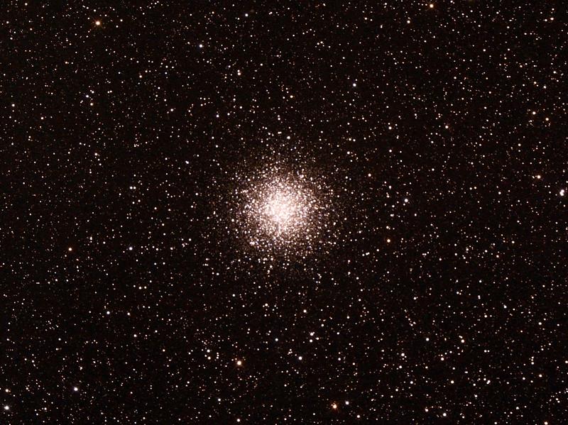Messier M55 - NGC6809 - Globular Cluster in Sagittarius - 25/9/2014 (Processed cropped stack)