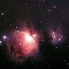 Messier M42 - NGC1976 - Orion Nebula & NGC1977 Running Man Nebula - AP modified 70D First Light - 1/1/2014 (Processed cropped stack)