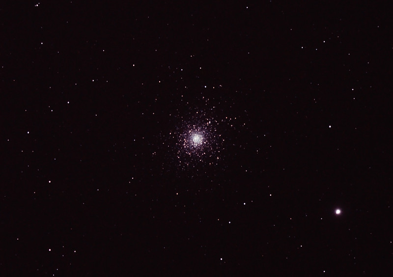 Messier M5 NGC5904 Globular Cluster in Serpens - 31/03/2012 (Processed)