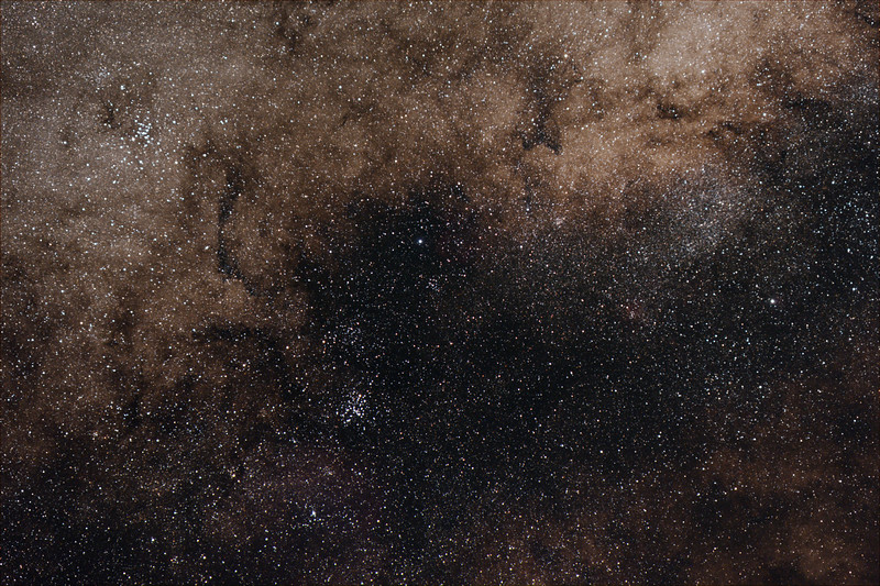 Miikly Way at Scopius-Sagittarius boundary - 21/07/2020 (Processed Stack)