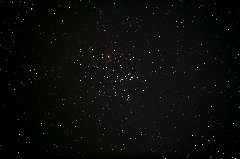 Messier M6 - NGC6405 - Butterfly Cluster in Scorpius - 14/10/2013 (Processed stack)