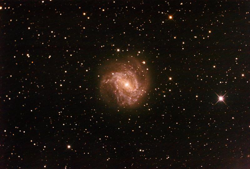 M83 - NGC5236 - Southern Pinwheel Galaxy - 11/2/2021 (Processed stack)