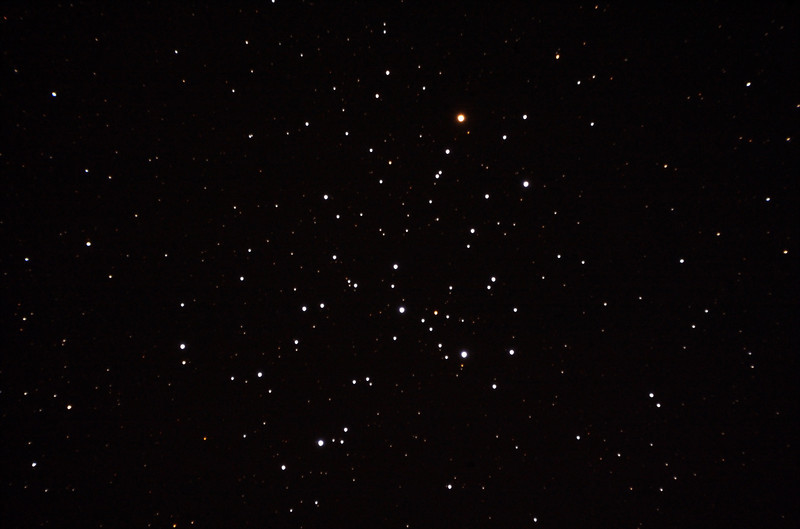 Messier M6 - NGC6405 - Butterfly Cluster - 30/9/2013 (Processed stack)