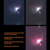 Comparison of 400D, 40D and AP modified 70D noise - Messier M42 - NGC1976 - Orion Nebula - 31/12/2013