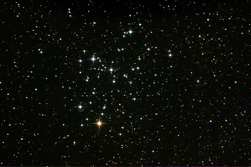 Messier M6 - NGC6405 - Butterfly Cluster - 11/5/2013 (Processed single image)