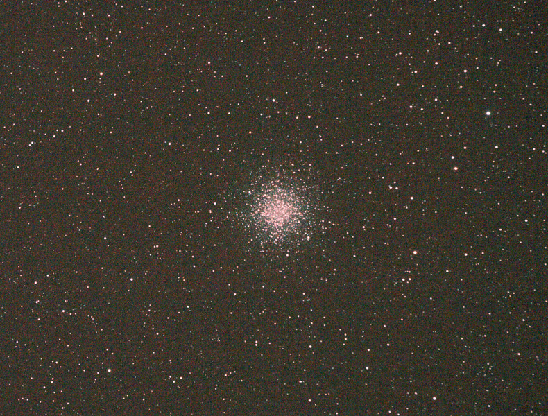 Messier M55 - NGC6809 - Globular Cluster - 29/5/2011 (Processed cropped stack)<br /> <br /> DeepSkyStacker 3.3.2 Stacked 75% of 15 Images ISO 800 120 Sec, 32 DARK, 0 BIAS, 0 FLATS, Post-processed by Photoshop CS5<br /> <br /> Telescope - Apogee OrthoStar LOMO 80/480 with Hotech SCA Field Flattener, Hutech IDAS LPS-P2 filter, Canon 400D DSLR, Ambient 12C. Mount - Skywatcher NEQ6 Pro. Guidescope - Orion ShortTube 80 with Star Shoot Auto Guider.