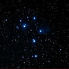 Messier M45 - Pleiades, Seven Sisters,Subaru, Matariki - 8/9/2012 (Processed stack)<br /> <br /> Image taken at Perth Observatory, ~30km East of Perth City centre.<br /> <br /> 3rd quarter moon - separation approx 20 degrees, but this was my first opportunity to try the Pleiades for this season, so worth a short stack, which turned out quite well, all considered.<br /> <br /> DeepSkyStacker 3.3.2 Stacked 100% of 6 Images ISO 800 120 Sec, 71 DARK, 0 BIAS, 32 FLATS, Post-processed by Photoshop CS5<br /> <br /> Telescope - Apogee OrthoStar LOMO 80/480 with Hotech SCA Field Flattener, Hutech IDAS LPS-P2 filter, Canon 40D DSLR field 106' x 159' , Ambient 12C. Mount - Skywatcher NEQ6 Pro. Guidescope - Orion ShortTube 80 with Star Shoot Auto Guider.