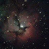 M20 - NGC6514 - Trifid Nebula - 29/4/2020 (Processed stack)