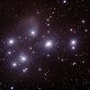Messier M45 - Pleiades - Seven Sisters - Subaru - Matariki - 16/10/2015 (Processed stack)