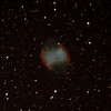 Messier M27 - NGC6853 - Dumbbell Nebula - 11/7/2012 (Processed cropped stack)