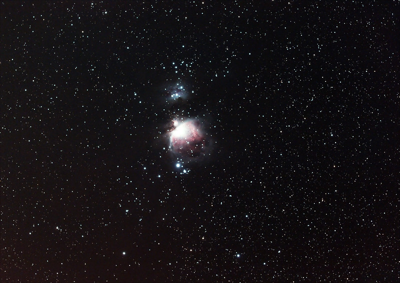Orion's Sword - 3/12/18 (Processed stack)