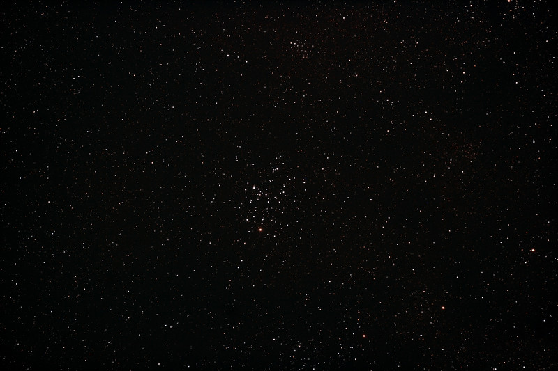 Messier M6 - NGC6405 Butterfly Cluster- 23/5/2012 (Processed stack)