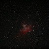 Messier M16 - NGC6611 - Gum 83 - Eagle Nebula and Cluster - 10/08/2012 (Processed stack)