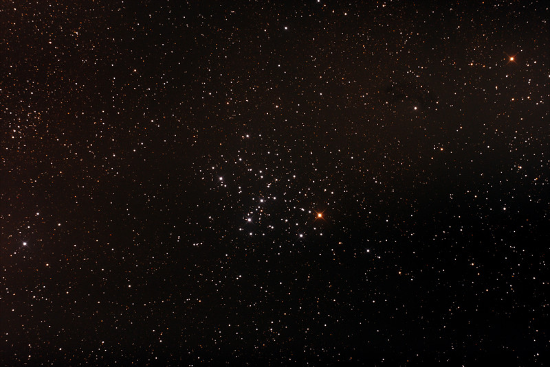 Messier M6 - NGC6405 - Butterfly Cluster in Scorpius - 24/6/2015 (Processed stack)