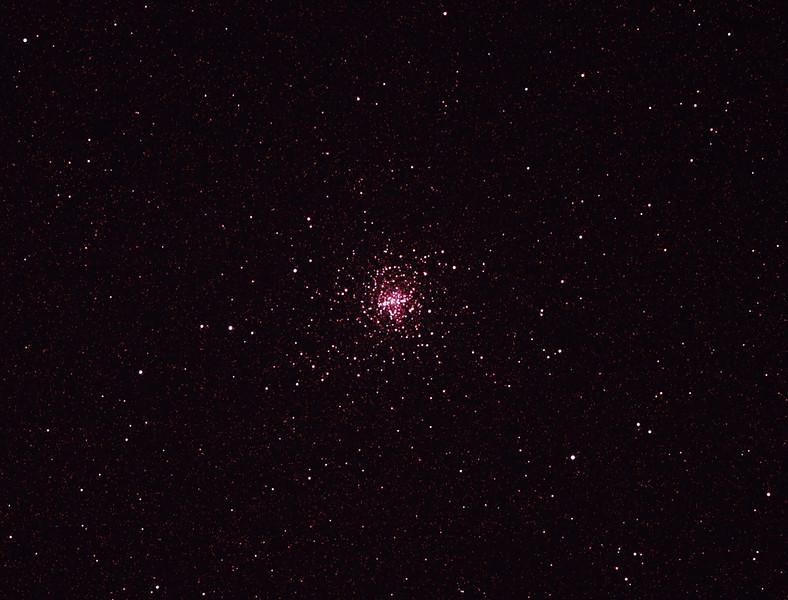 Messier M4 NGC6121 Globular Cluster in Scorpio (also NGC6144 Globular Cluster) 30/3/2011 (Processed cropped stack)
