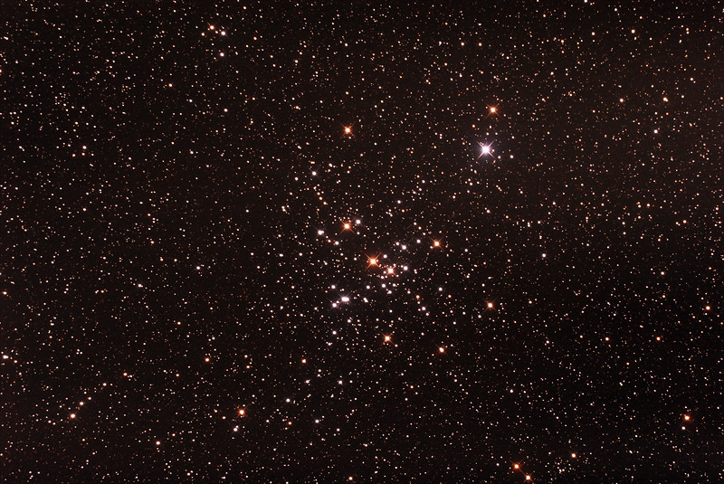 Messier 41 - NGC2287 - Open Cluster in Canis Major - 3/2/2017 (Processed stack)
