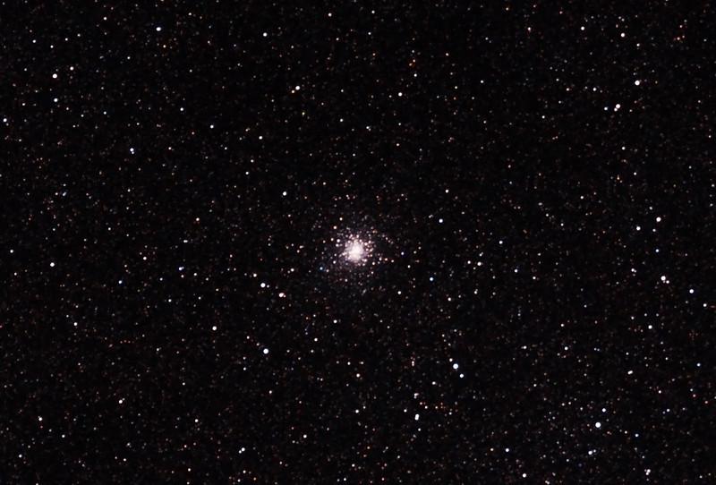 Messier M28 - NGC6626 - Globular Cluster in Sagittarius - 22/6/2012 (Processed cropped stack)