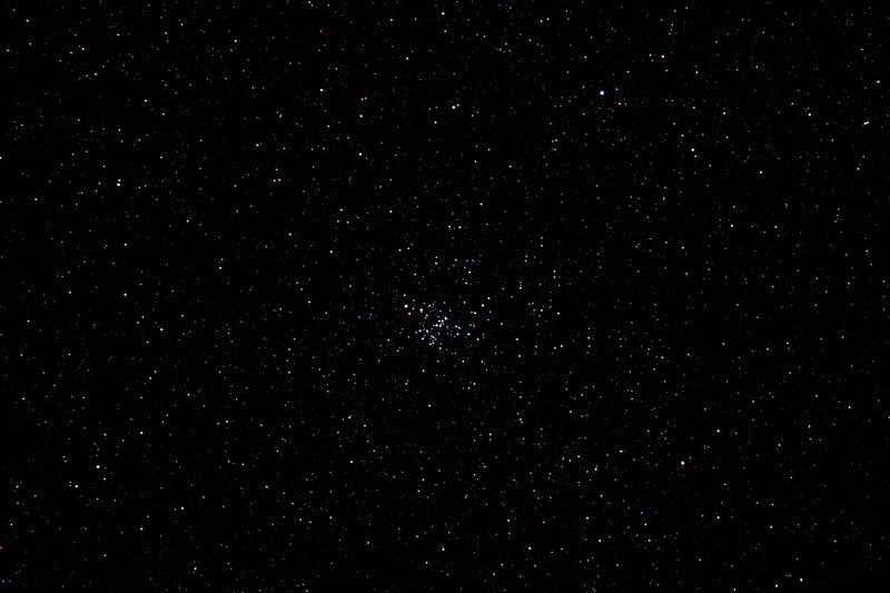 Messier M93 - NGC2447 Open Cluster in Puppis - 2/2/2013 (Processed stack)